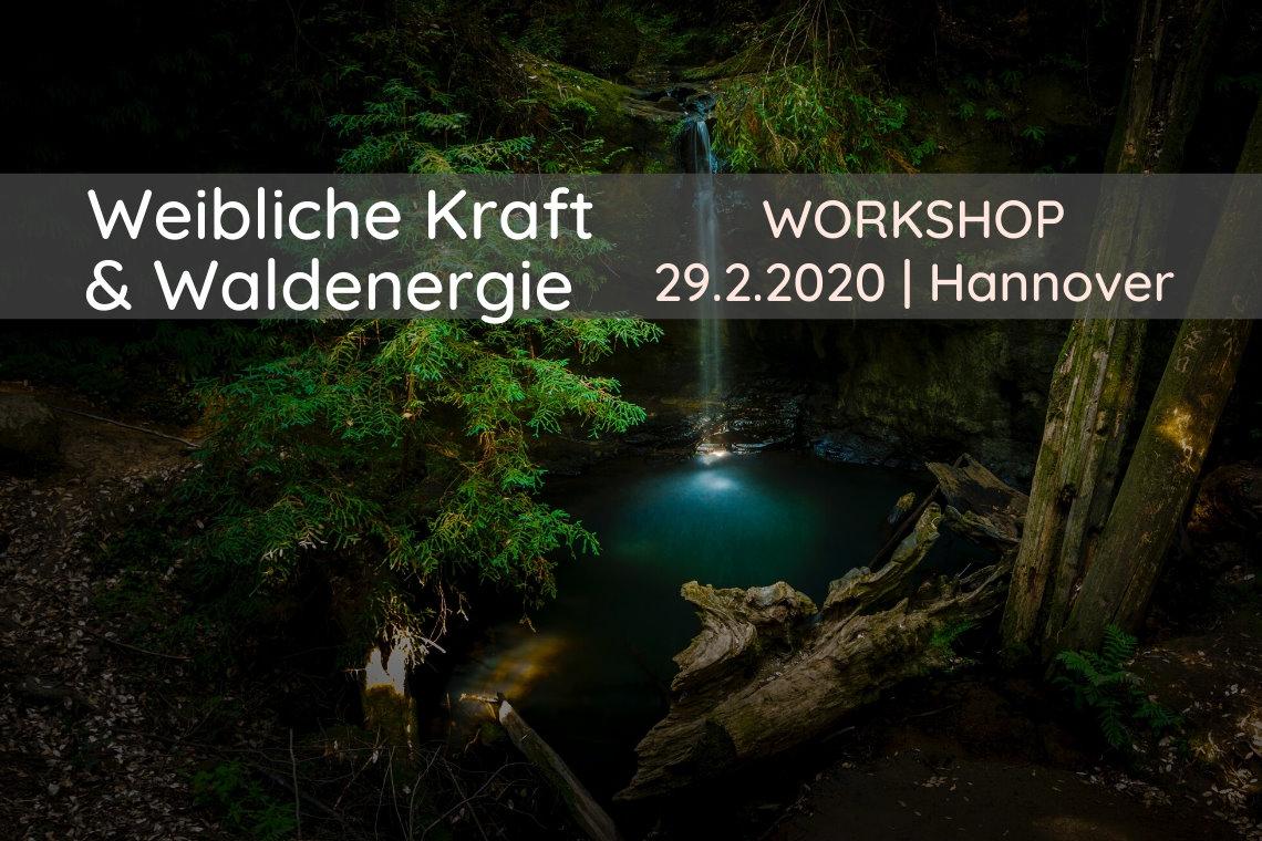Workshop weibliche Kraft und Waldenergie mit Suzanne Frankenfeld in Hannover